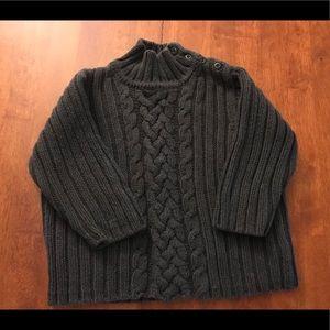 Dark Gray Baby Gap Children's size 2 sweater
